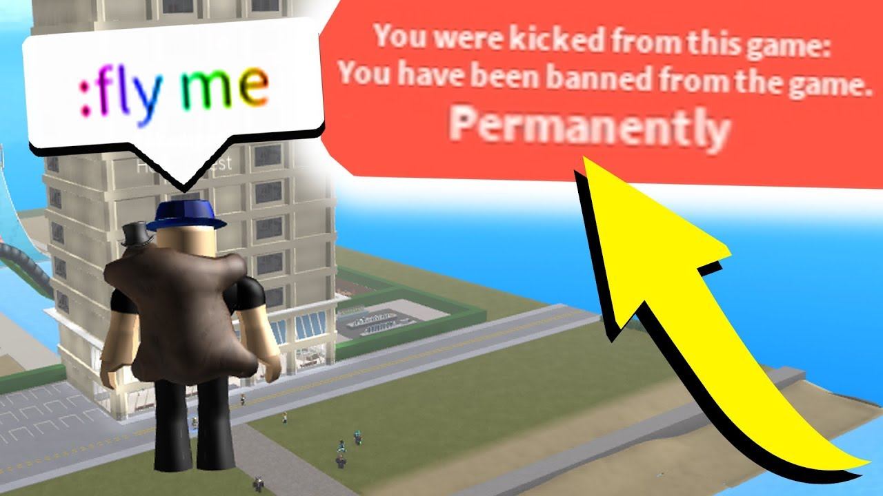 Getting Admin At A Roblox Hotel I Got Banned Youtube