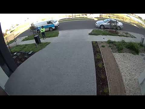 Swann Floodlight Security Camera Sample Clip (1080p)