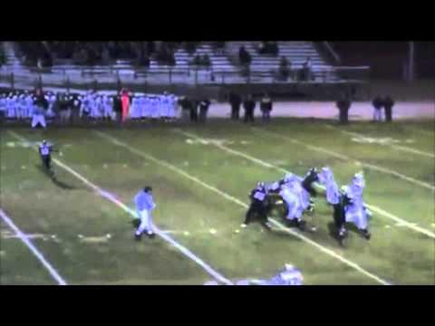 Austin Nieves 09-10 football Saint Francis High School