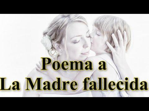 Poema A La Madre Fallecida Letra De Poema En Homenaje A La Madre