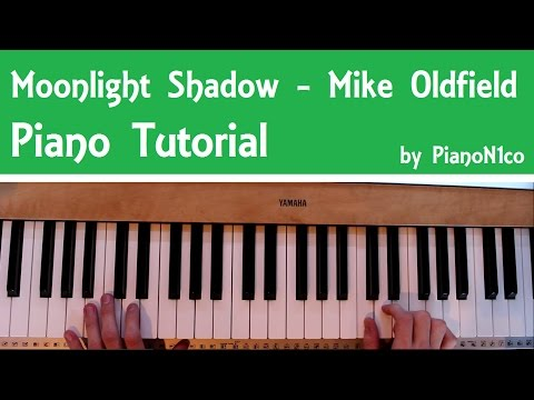 Moonlight Shadow by Mike Oldfield | Piano Tutorial | How To Play | HD