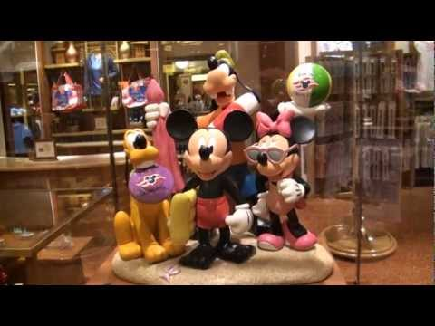 Tour of the Disney Dream Merchandise Shops  YouTube