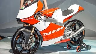 2016 Mahindra Moto3 Race Bike at 2016 Auto Expo