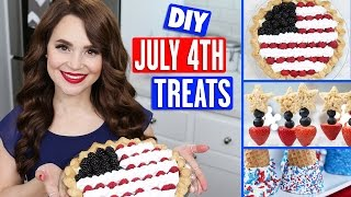 DIY July 4th TREATS by : Rosanna Pansino