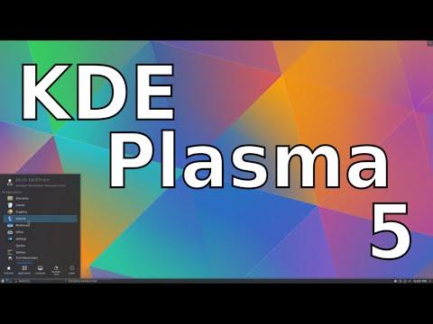 KDE Plasma 5 - Linux Desktop Environments