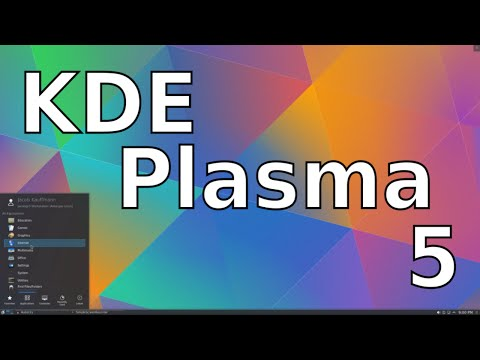 KDE Plasma 5 - Linux Desktop Environments