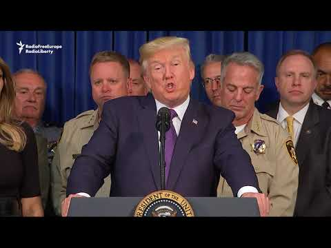 Trump Visits Las Vegas After Massacre