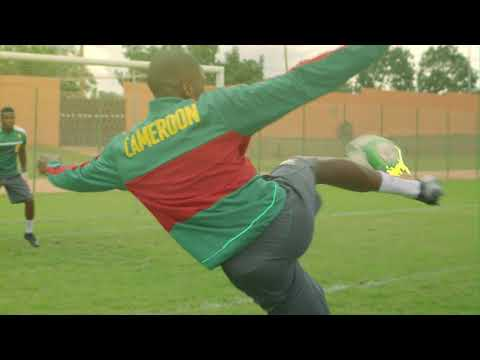 MHD and Cameroon football team dance like Roger Milla
