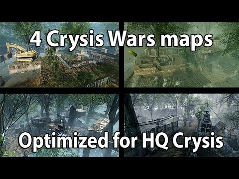 Crysis 1 MP - 4 Crysis Wars optimized Maps - on Event