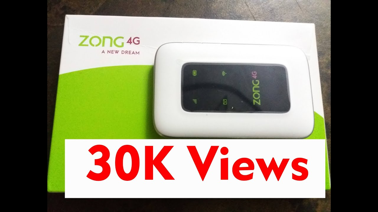 Zong 4G Bolt+ fiberhome price, specifications, and package details