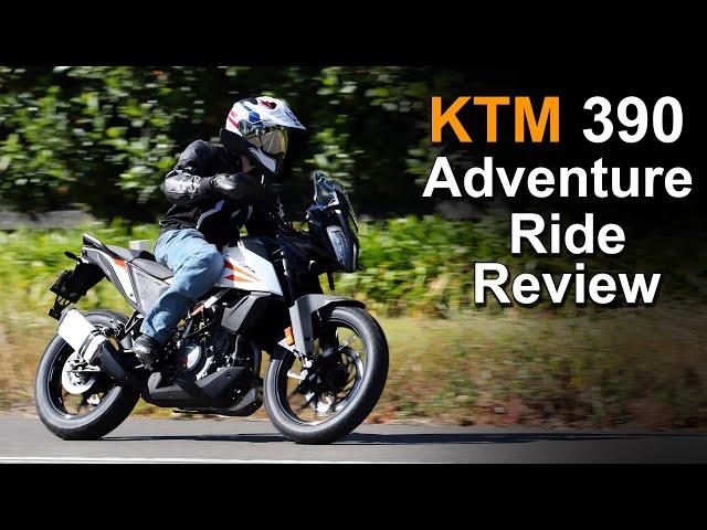 2020 KTM 390 Adventure - Ride & Review