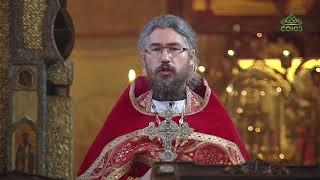 В день памяти преподобного Иоанна Солунского в Сретенском монастыре столицы состоялось богослужение.