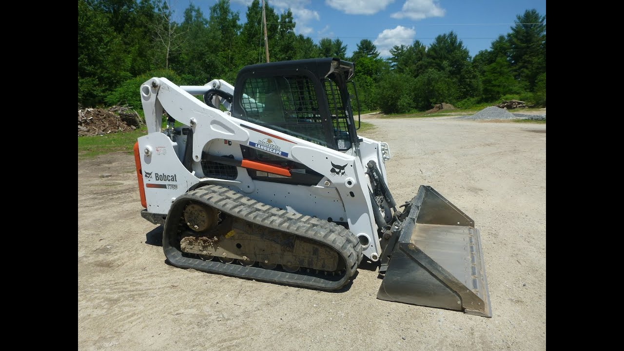 Bobcat T750 Walk Around