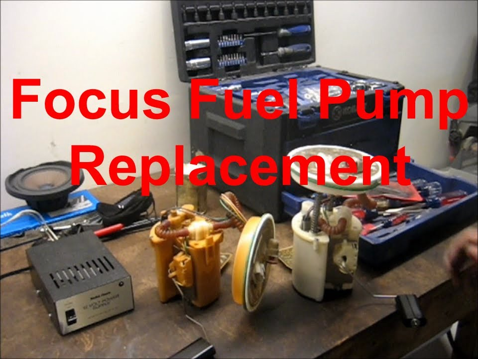 Bosch Fuel Pump Relay Wire Diagram Replacing A Ford Focus Fuel Pump The Easy Way Youtube