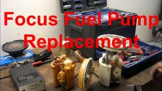 Replacing a Ford Focus Fuel Pump - The Easy Way