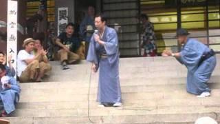 古今亭菊之丞の一人ショー~第10回円朝まつり