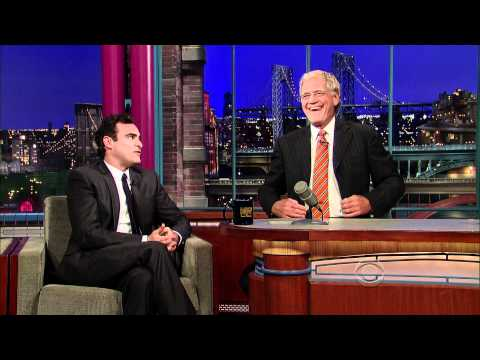 Joaquin Phoenix Return visit on David Letterman show (sept 22 - 2010) HD 1080p