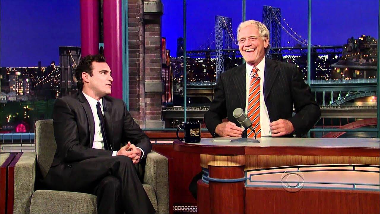 Download Joaquin Phoenix Return visit on David Letterman show (sept 22 - 2010) HD 1080p