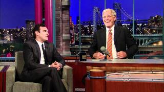 joaquin phoenix return visit on david letterman show sept 22 2010 hd 1080p