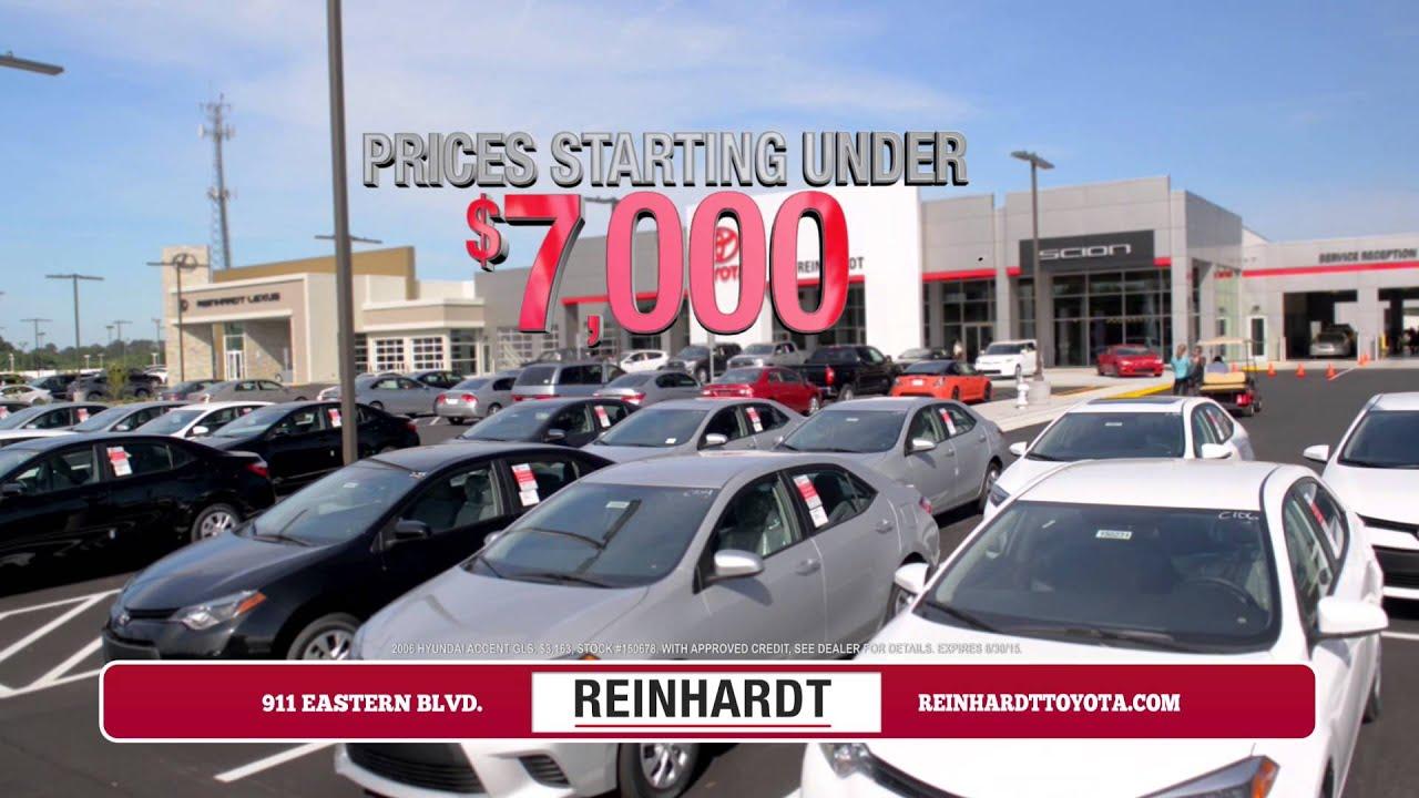 Used Car Dealerships In Montgomery Al >> Reinhardt Used Cars Montgomery Al Garage Sale
