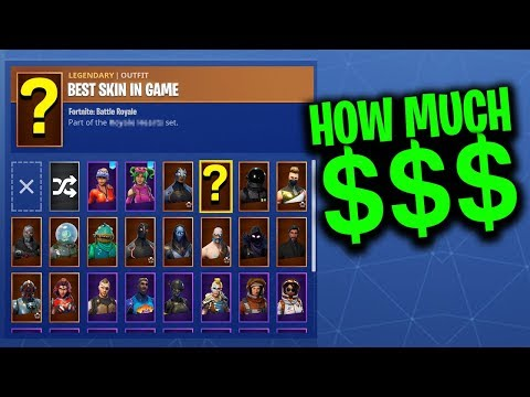 How Much $ Have I Spent On FORTNITE?