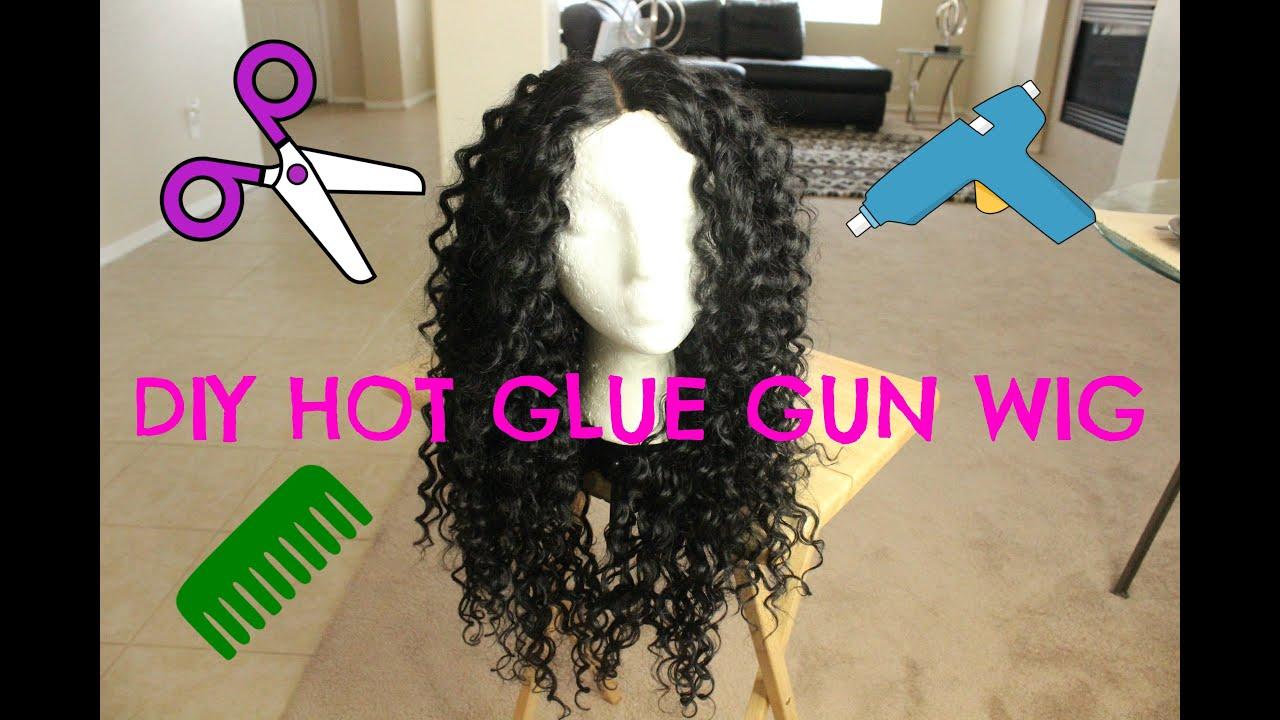 Diy Hot Glue Gun Wig For Under 20 Outre Dominican Curly Bundles Samsbeauty You