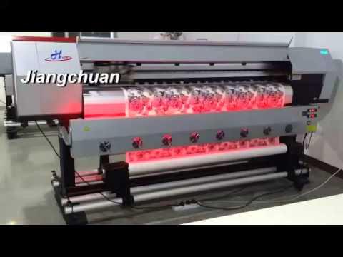 China Plotter , Eco-Solvent Wide Format Color Inkjet Printer , Dye Sublimation Digital Printers