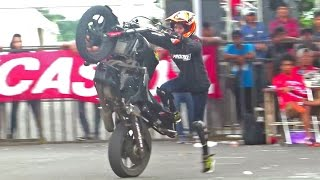 Download Video Freestyle Motor Cewek, Nadije Stunt Rider Wanita Indonesia asal Tasikmalaya (Jogja Bike Festival) MP3 3GP MP4