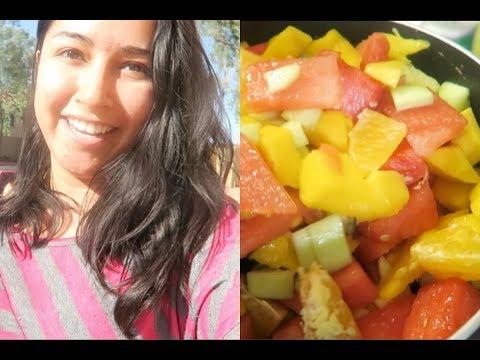 Getting Vitamin D! Fruit Salad! - May 16,17,18 / leticiavlogs