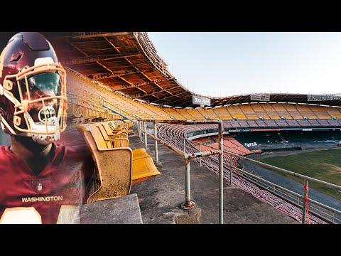 INSIDE The ABANDONED RFK Stadium Home Of The Washington REDSKINS
