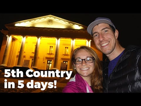 A nice welcome in Vilnius, Lithuania - Travel Vlog Day #82