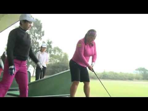 Breast get in way golf swing