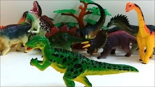 Building Blocks Toys for Children. Dinosaurs TSINTAOSAURUS.
