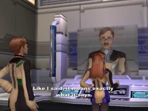 Xenosaga Episode I HD Cutscene 063 - Argument with the Director - JAPANESE