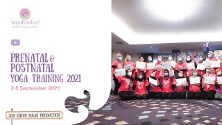 Prenatal & Postnatal Yoga Traning September 2021