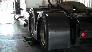 G Force Diesel 1000 Horsepower Cat on dyno