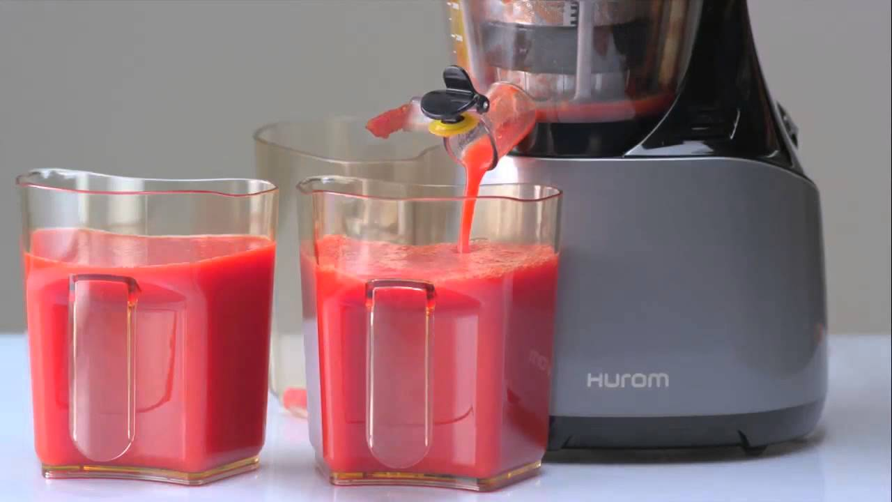 Slow Juicer Di Ace Hardware : Hurom Slow Juicer - YouTube