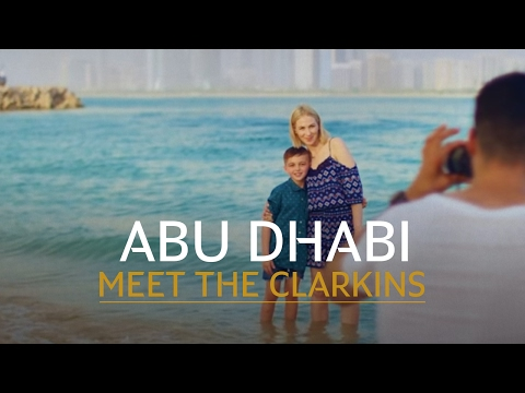 The Clarkins  Traveling to Abu Dhabi with Etihad Airways for a family holiday