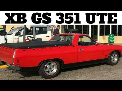 XB GS Falcon Ute Walk Around - GT Ute