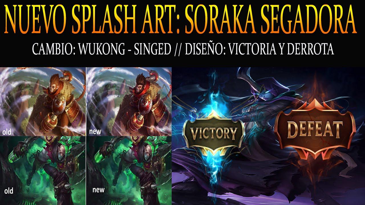 NoticiasLOL // Splash Art: Soraka Segadora - Wukong ...