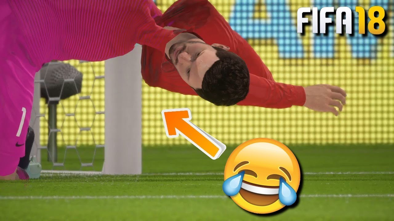 FIFA 18 Fail Compilation | Glitches & Humorous Moments Half #2