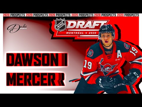 DAWSON MERCER is QMJHL best prospect after Lafreniere