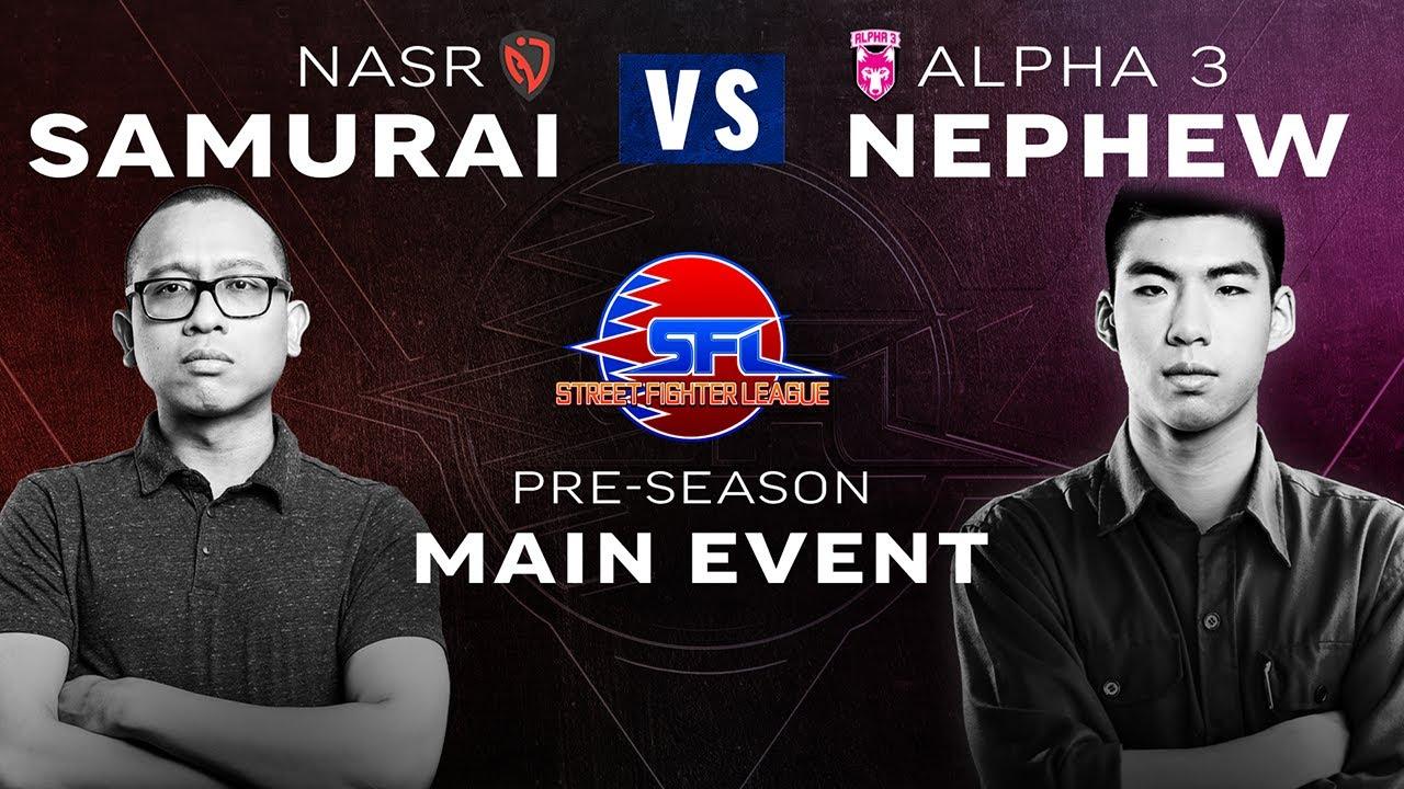 Samurai (Akuma) vs. Nephew (Kolin) - Main Event - Street Fighter League (Season 3) Pre-Season Week 1