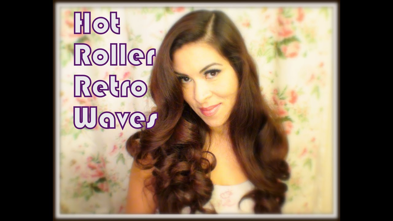 How To Retro Waves With Hot Rollers Ilovegerardo   YouTube