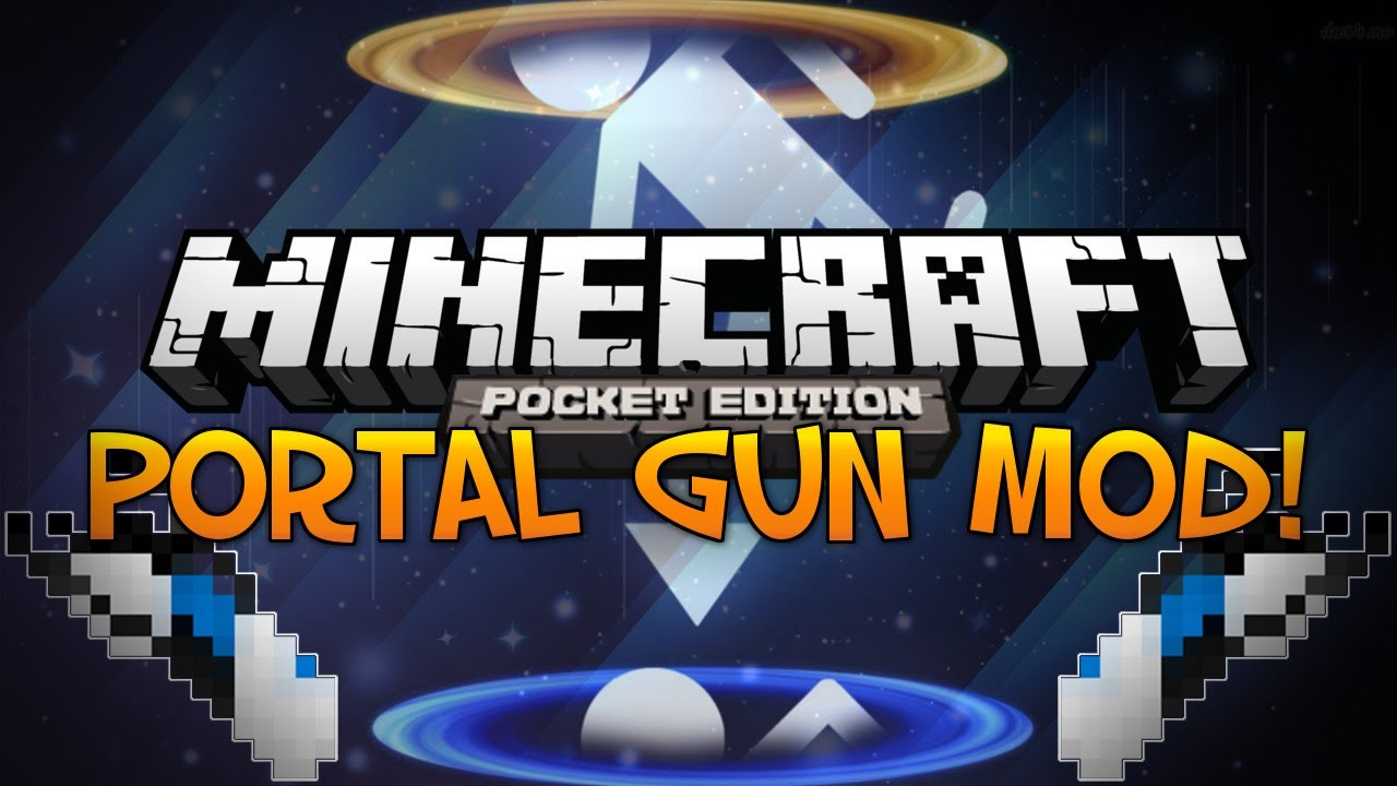 how to make all the portals in minecraft pe
