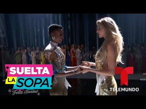 Estos son los mejores momentos de Miss Universo 2019   Suelta La Sopa   Entretenimiento