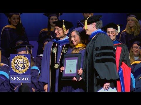 San Francisco State Graduate Recognition Ceremony 2015