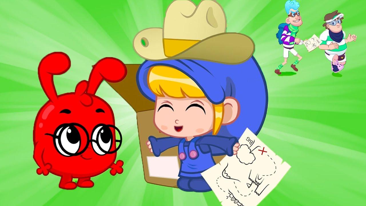 Mila and Morphle's Big Treasure Hunt | Halloween Cartoon For Kids | Morphle vs Orphle - Kids Videos