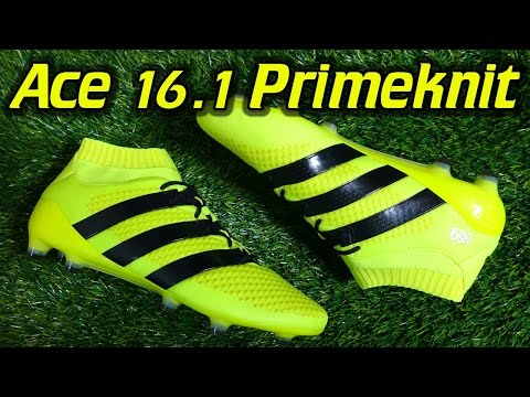 Adidas ACE 16.1 PrimeKnit (Speed of Light Pack) - Review + On Feet