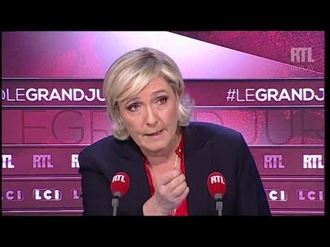 Marine Le Pen, opposée à la fermeture de Fessenheim, veut arrêter l'éolien